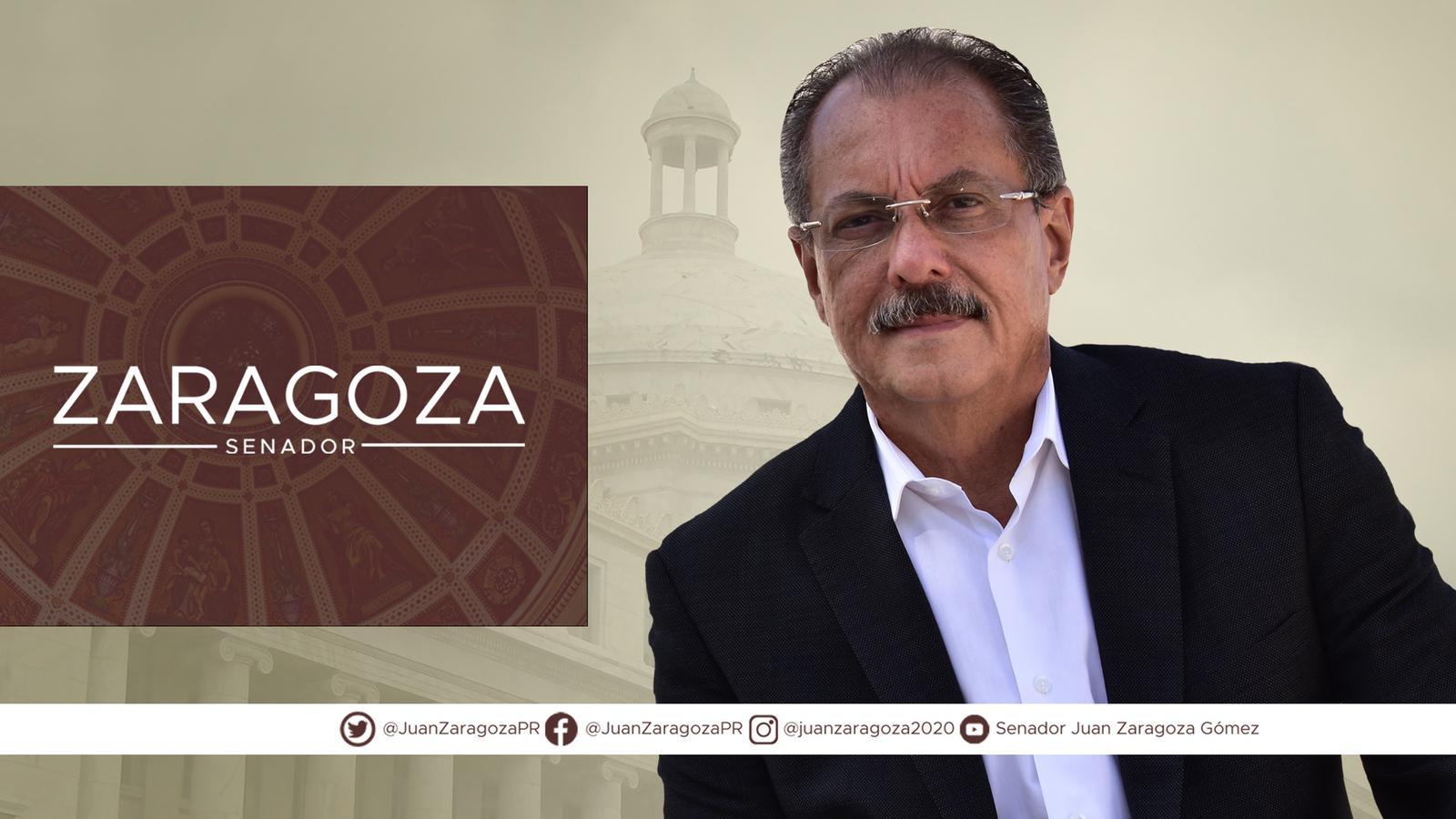 Foto del Senador Juan Zaragoza